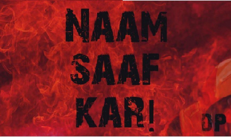 NAAM SAAF KAR! ||FREESTYLE HINDI RAP||(FT. DOHU BROS.)||(lyrics video)||