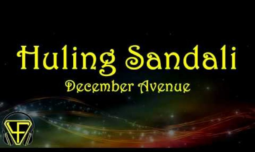 Huling Sandali – December Avenue (Lyrics Video)