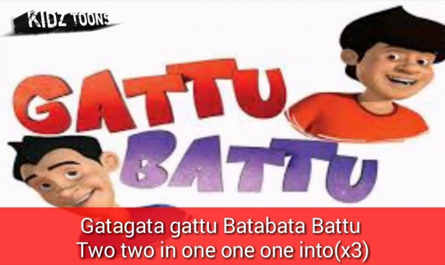 Gattu Battu [hindi]opening theme song with [lyrics](☆Prashant paudel).