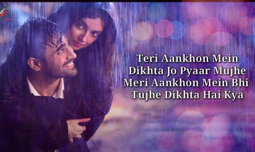 Teri Aankhon Mein Lyrics – Divya K | Darshan R, Neha K | Pearl V Manan B | Radhika, Vinay |