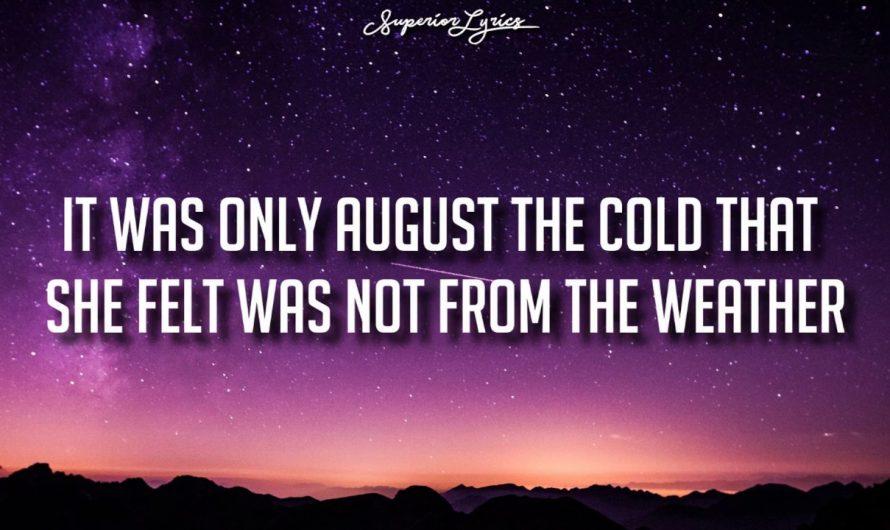DHARIA – August Diaries (by Monoir) [Lyrics]