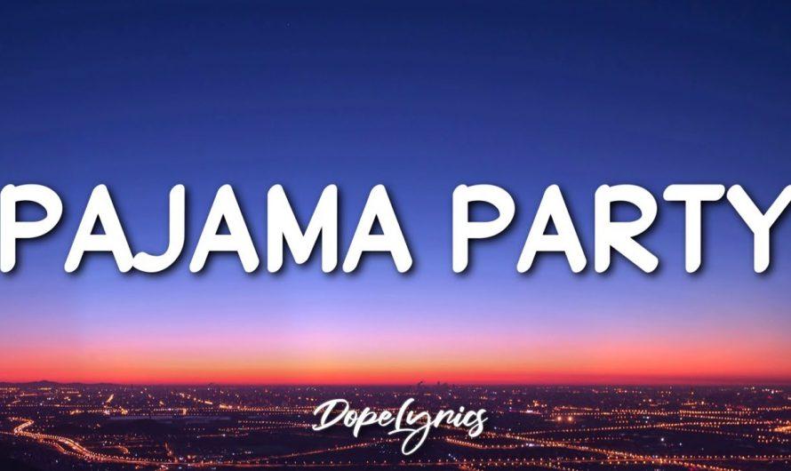 PAJAMA PARTY – 1096 Gang (Lyrics) | pam param pam pam