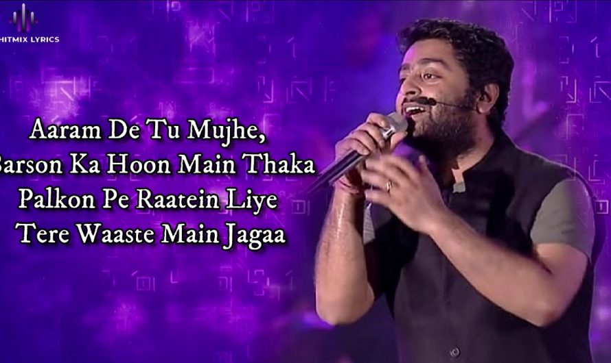 Saanson Ko (LYRICS) – Arijit Singh