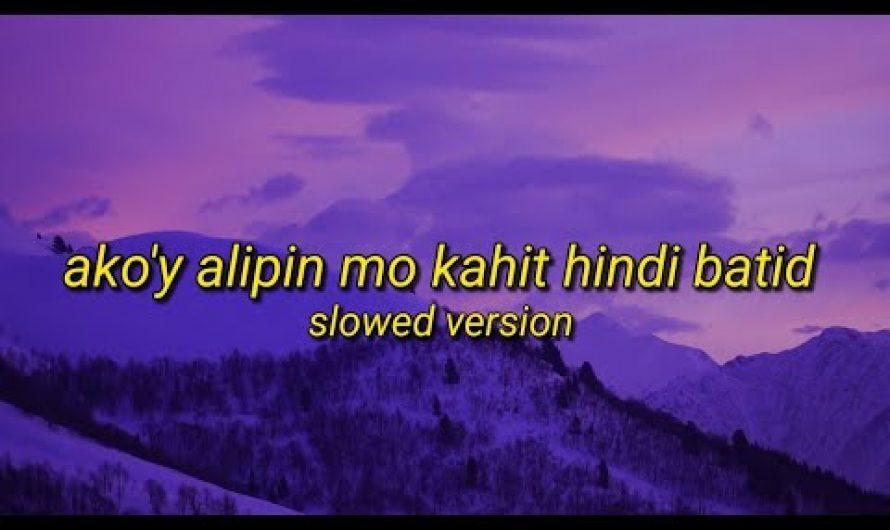 "Alipin – Tiktok Song (Slowed) ""ako'y alipin mo kahit hindi batid"" | (Lyrics Video)"