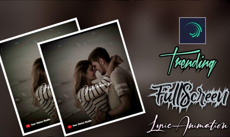 Alight Motion Lyrics Video Tutorial Hindi   Smooth Text Transition Effect   #alightmotion