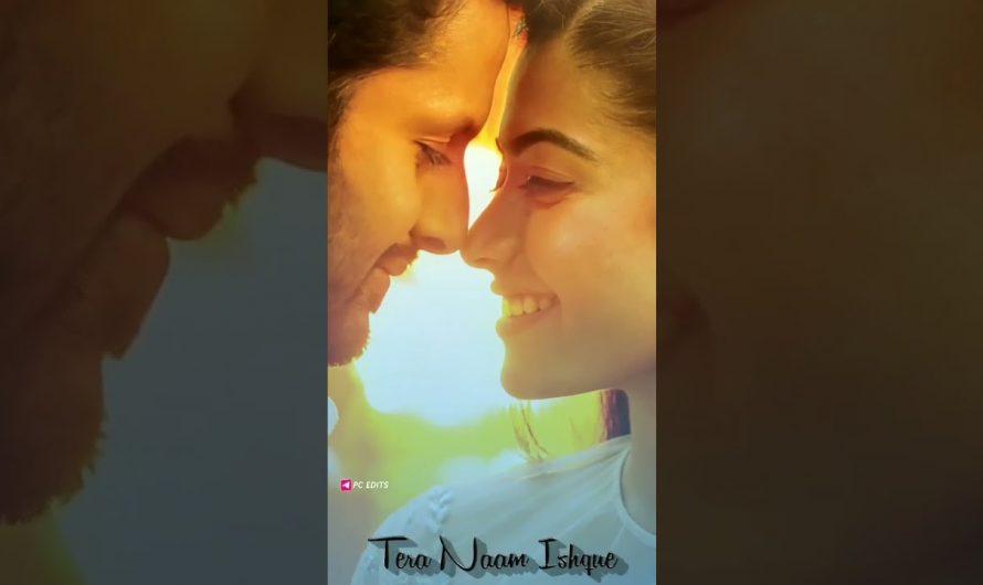 4k lyrics video  Love status Hindi  rashmika love status Hindi