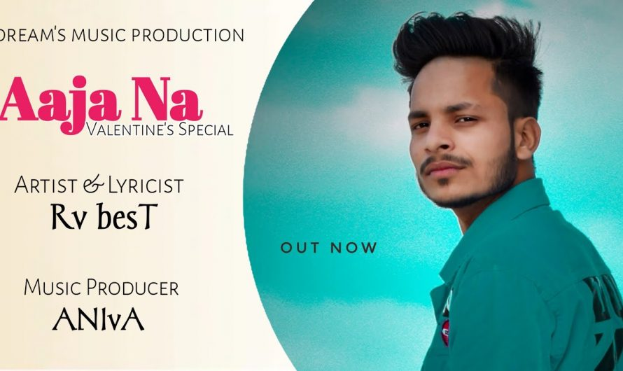   AAJA NA    VALENTINE SPECIAL    Rv besT  FT ANIvA    HINDI RAP  (OFFICAL  LYRICS VIDEO) BY DMP