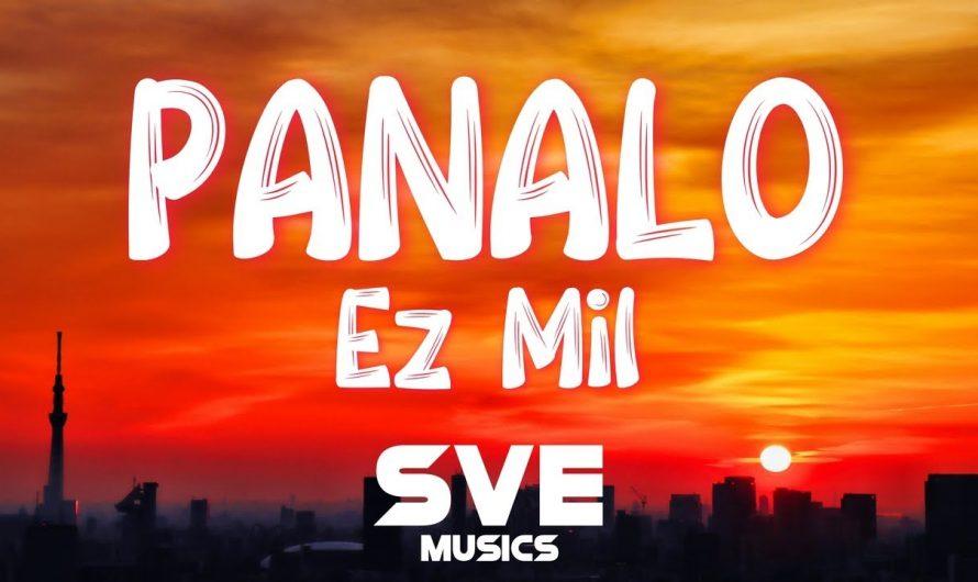Panalo (Trap Cariñosa) – Ez Mil   Lyrics Video
