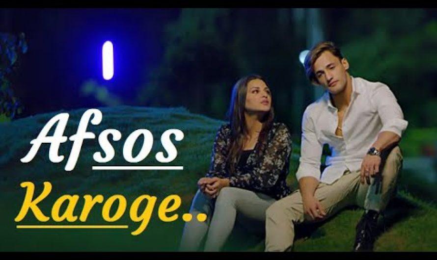 Afsos Karoge | Asim Riaz & Himanshi Khurana| Stebin Ben|Lyrics| Anshul Garg |Latest Hindi Songs 2020