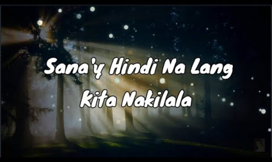 Sana'y Hindi Na Lang Kita Nakilala – Nina Angela Sarto   Lyrics Video   Tiktok Song