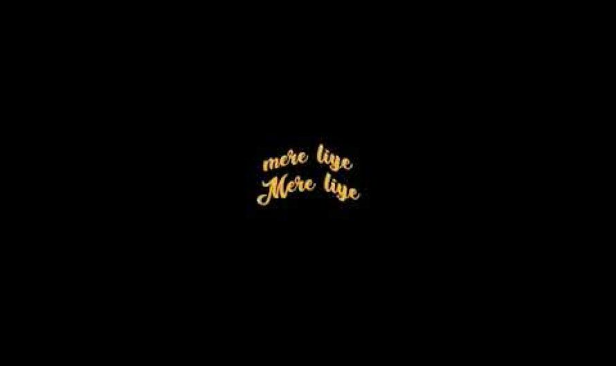 Tum ho | black screen lyrics video | hindi romatic song | black screen status|