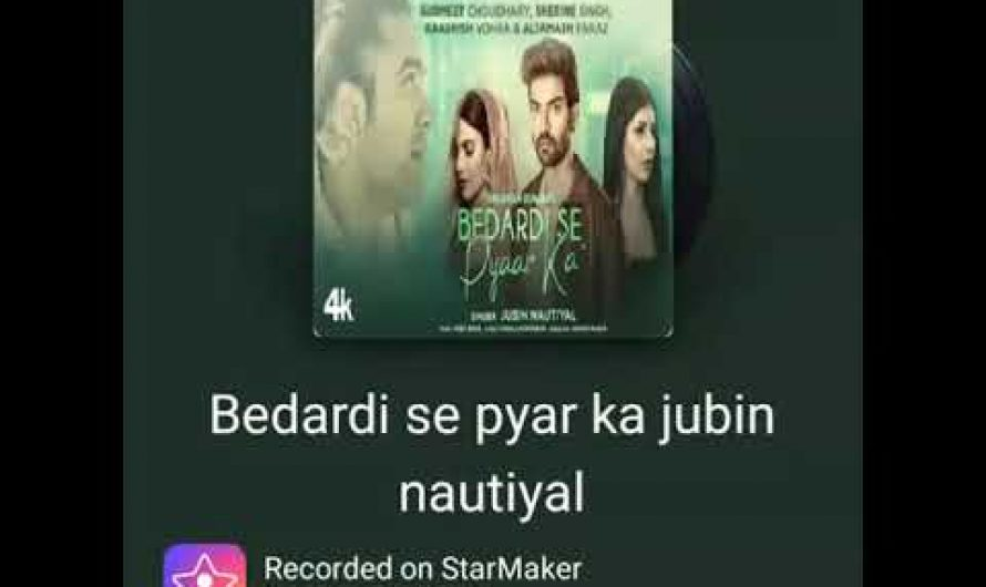 Jubin Nautiyal : Bedardi Se Pyar Ka ( Lyrics Video ) New Hindi Song Hindi 2021