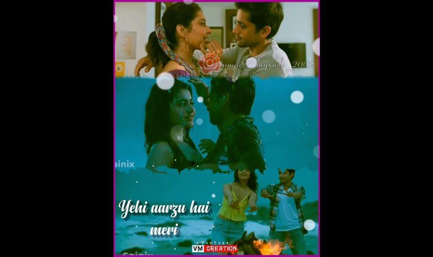 Kinna Sona | Hindi Love Song | Whatsapp Status Video | Lyrics Video | VM CREATION | #short