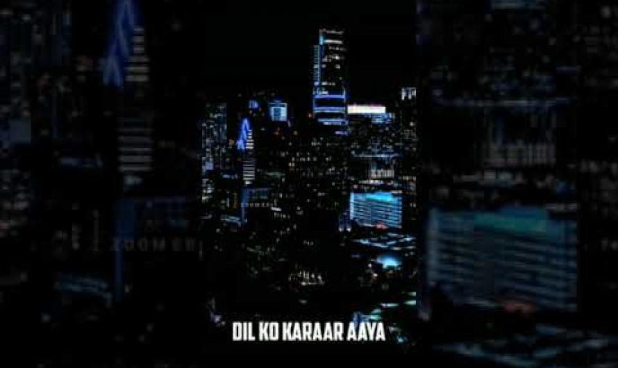 whatsapp status video ❤️    lyrics video    #DilKoKaraya    zoom edit     hindi love song ❤️