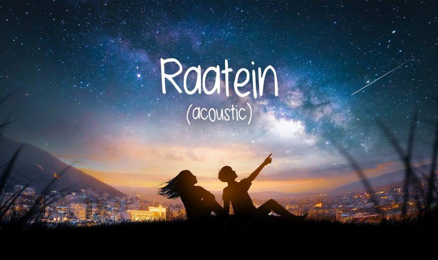 Raatein (Acoustic) – Shivaay   Jasleen Royal   Aditya Sharma   Offical Lyric Video