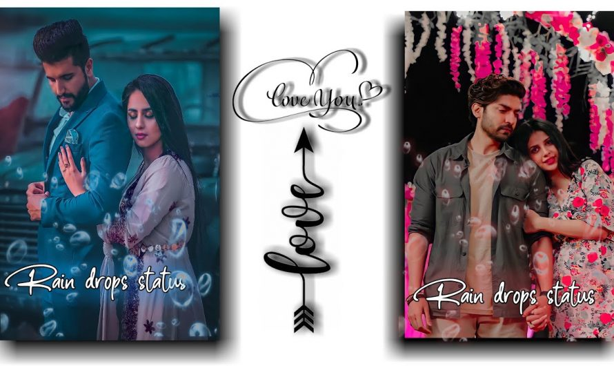 Tere Liye He Jiya main status video ❣️ New hindi lyrics video ❣️ whatsapp status Rain🌧️ drops#shorts