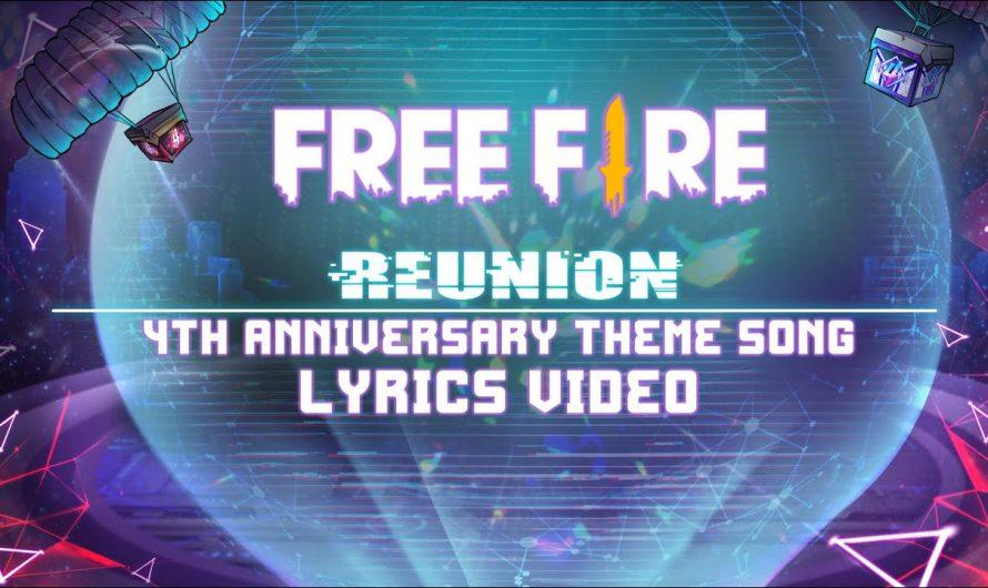 """Reunion"" 4nniversary Theme Song – Lyrics Video   Garena Free Fire"