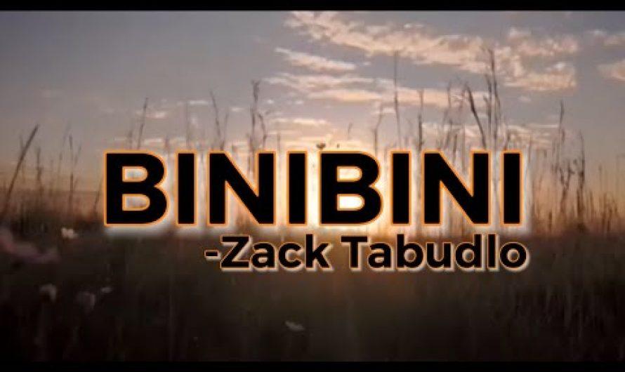 Binibini with lyrics by:Zack Tabudlo | music video