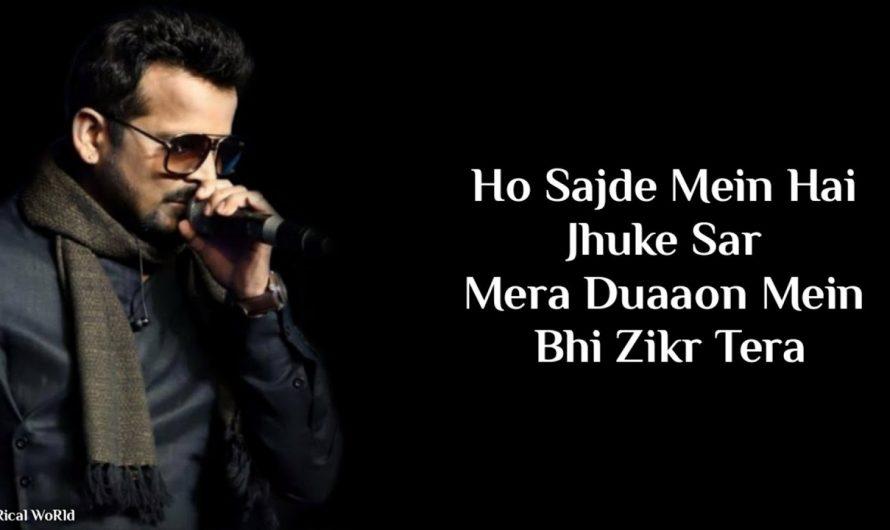 Lyrics:Sacchi Mohabbat Full Song | Shahid Mallya, Jonita Gandhi | Shelle | Amit Trivedi
