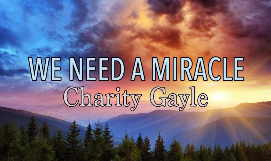 We Need A Miracle – Charity Gayle – Lyric Video