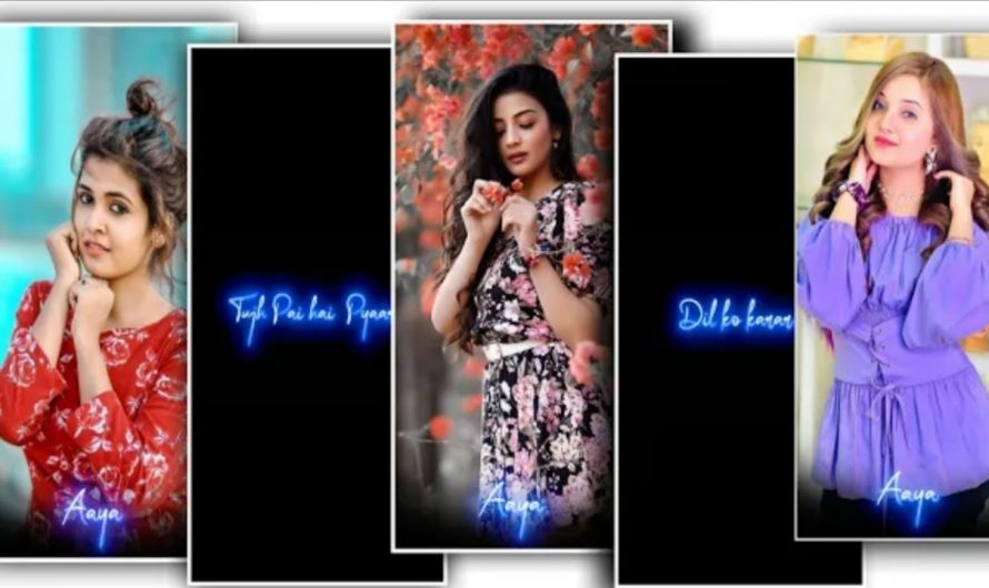 New Hindi Lyrics Status Video Editing Alight Motion   Alight Motion Video Kaise Banaye 2021