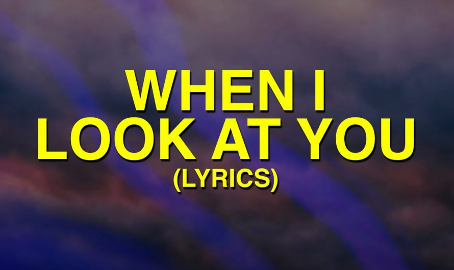 Miley Cyrus – When I Look At You (Lyrics) there is no guarantee that this life is easy