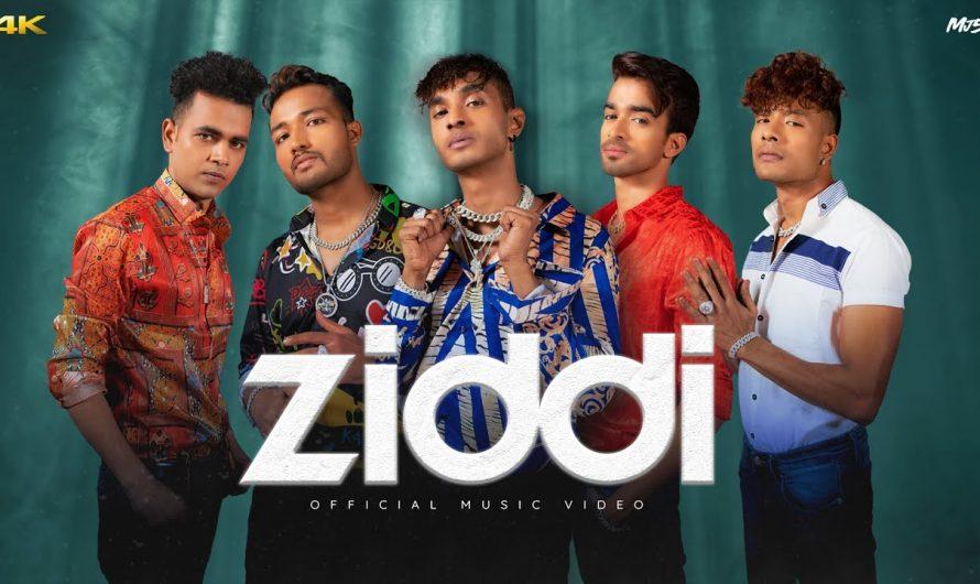 MJ5 – ZIDDI [Official Music Video]   Latest Hindi Song 2021