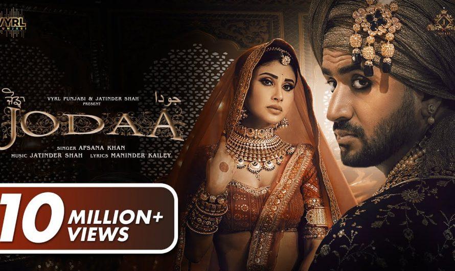 Jodaa (Official Video) Jatinder Shah, Afsana Khan| Mouni Roy, Aly Goni | Maninder Kailey